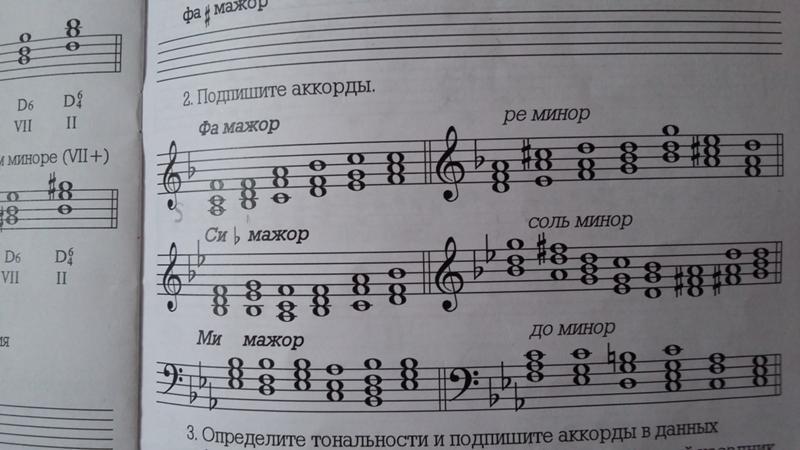 решебник гармонии 6 вариантов аккордов