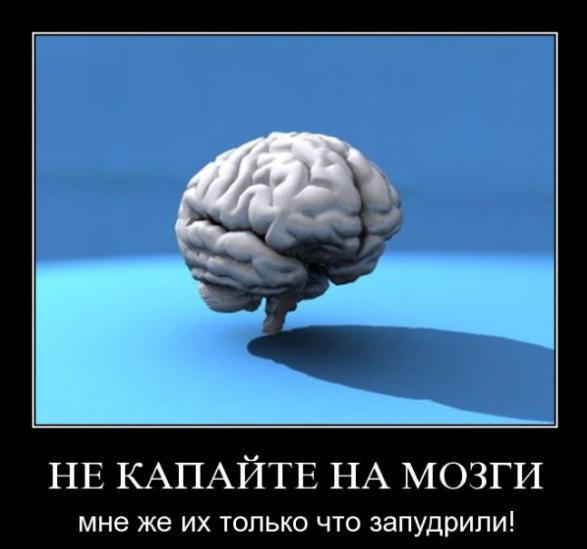 ты чё мне мозг кам парировал