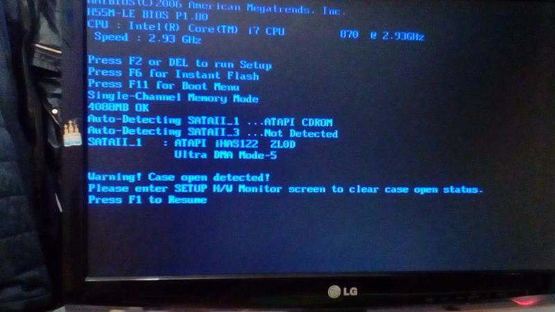 свою самую при запуске компьютера на мониторе пишет нет сигнала снится
