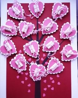 50 идей ко дню Святого Валентина открытки декор и