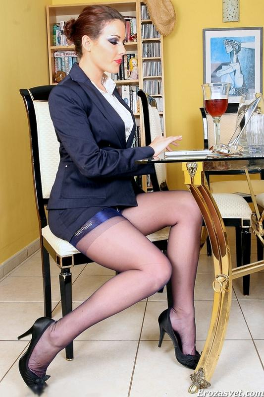 фото русских секретарш засветы