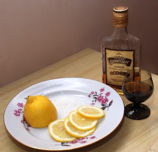 можно похудеть при помощи коньяка и лимона