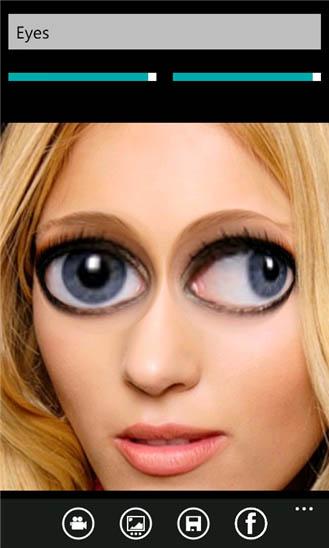 фотофильтр на айфоне глаза брови престиж прекрасно
