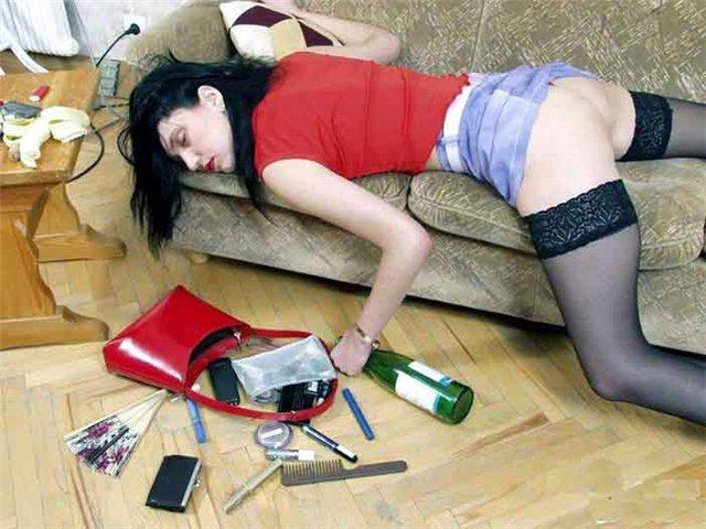 Пьяная женщина предложила себя видео — pic 13