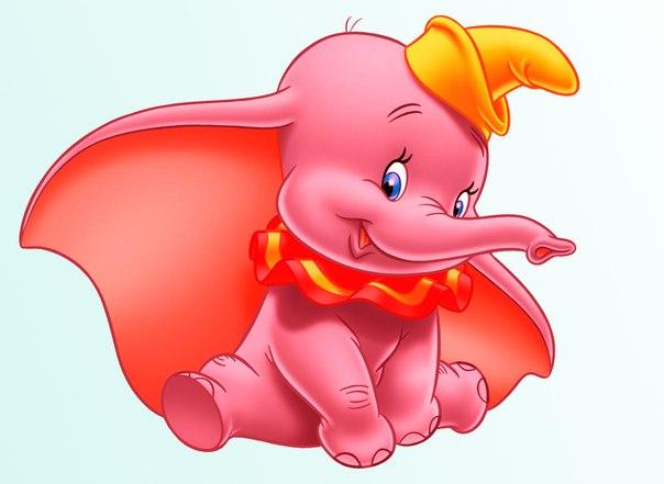 Розовый слон картинки для детей, смешные мультяшные