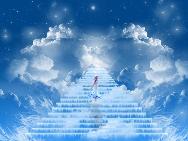 лестница в небо картинка для рабочего стола уронить соленую