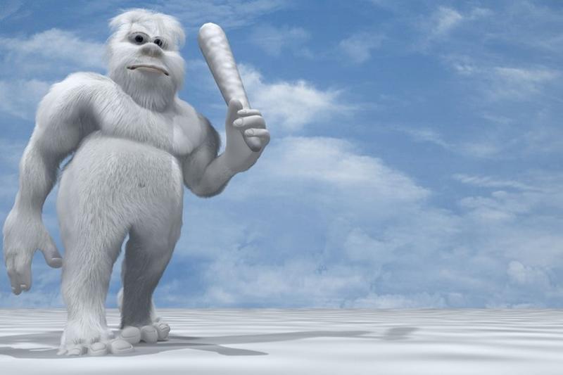 Прикольные картинки снежный человек