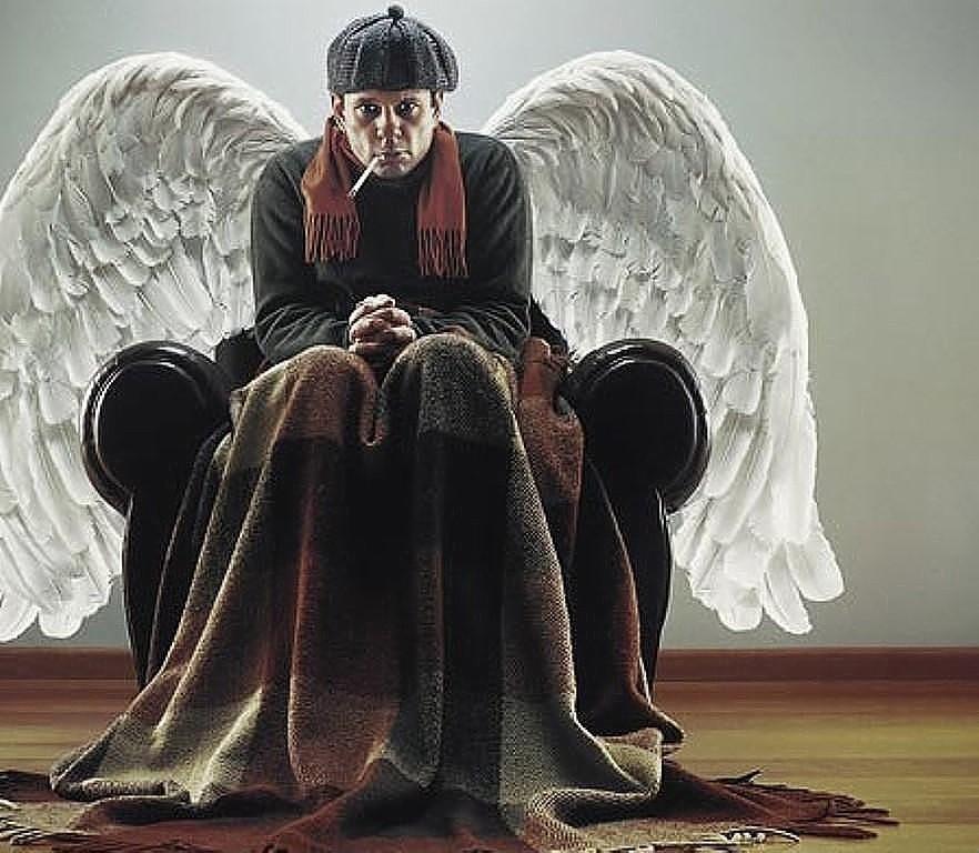 Ангел картинки прикол, надписями факью