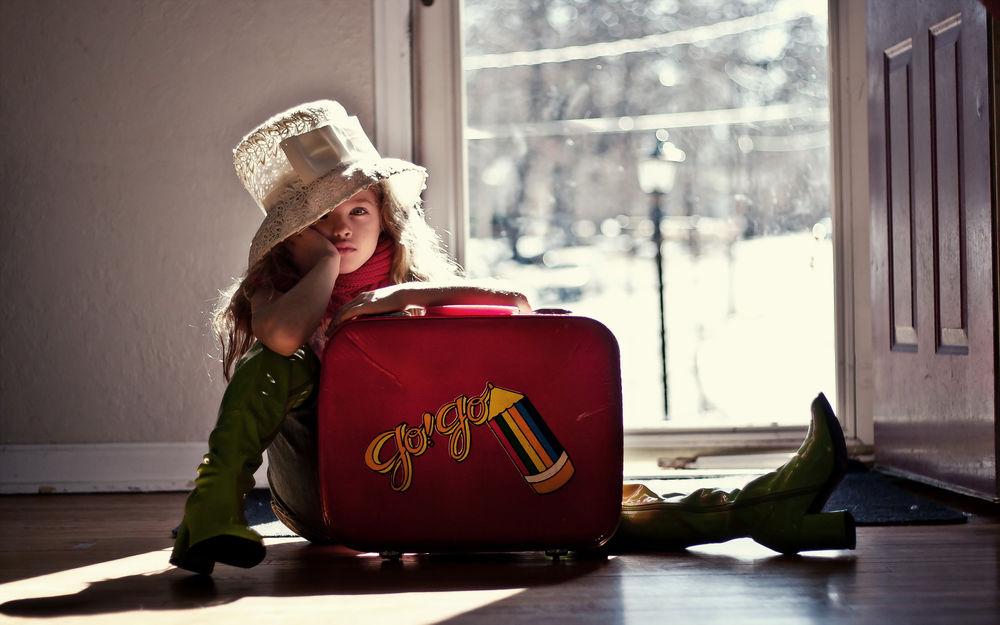 Прикольные картинки с чемоданами, днем рождения
