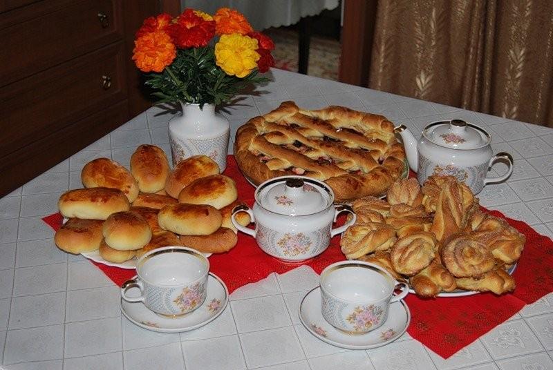 Картинки с пирожками доброе утро, день