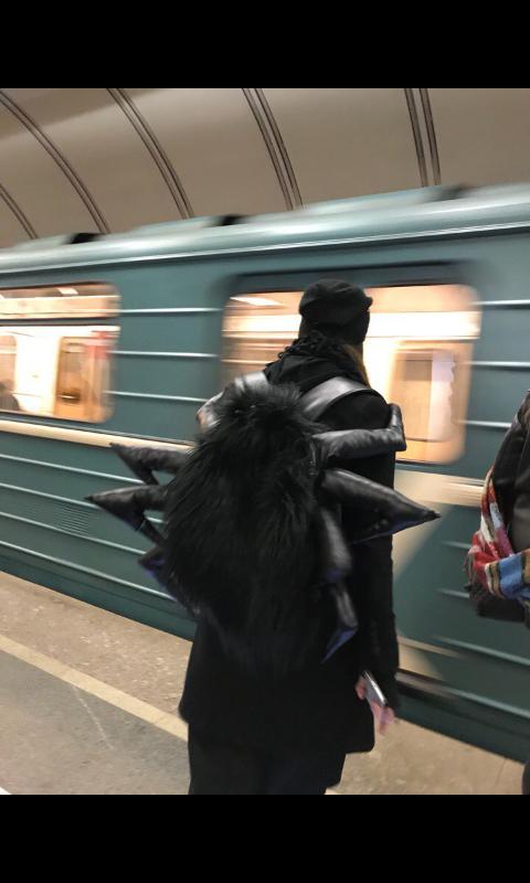 Странные пассажиры московского метро