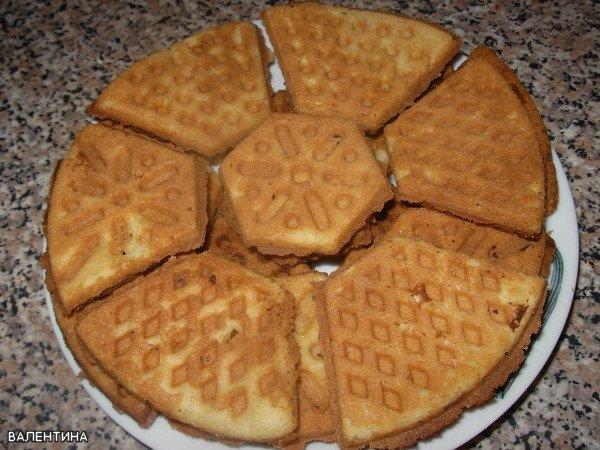 рецепт печенье с крахмалом треугольники в форме