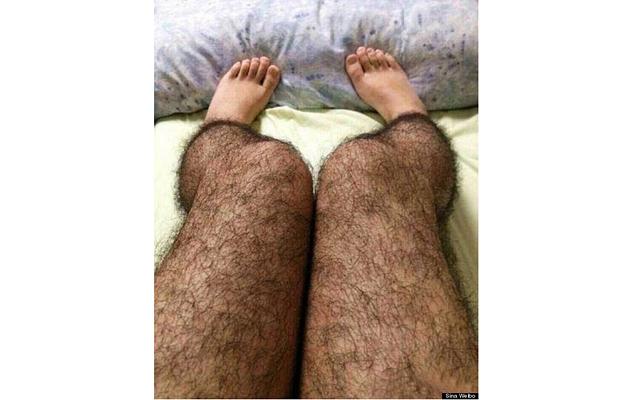 фото волосатые женские ноги