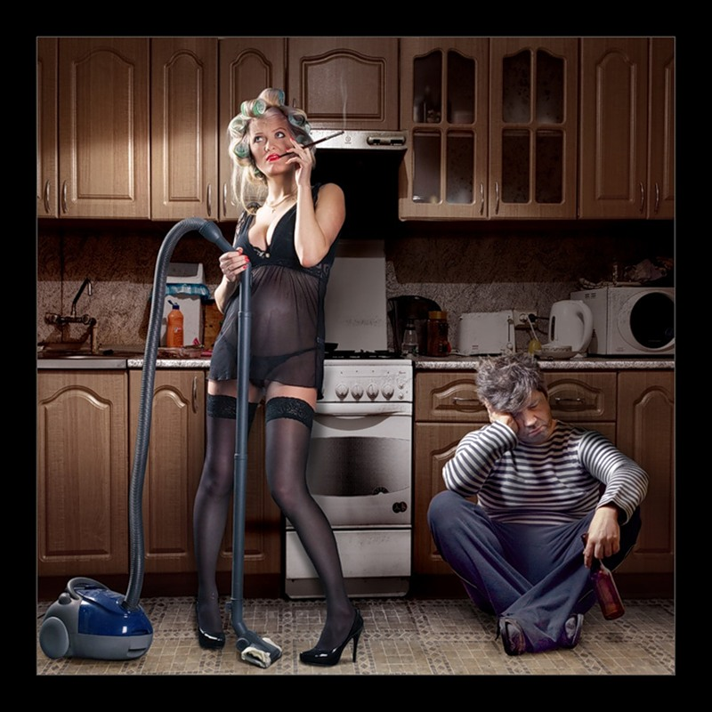 Картинки муж на работе а жена на кухне, лесби с старпоном фото