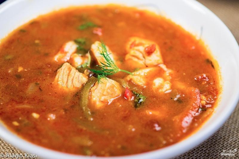 Суп из окуня рецепт с фото