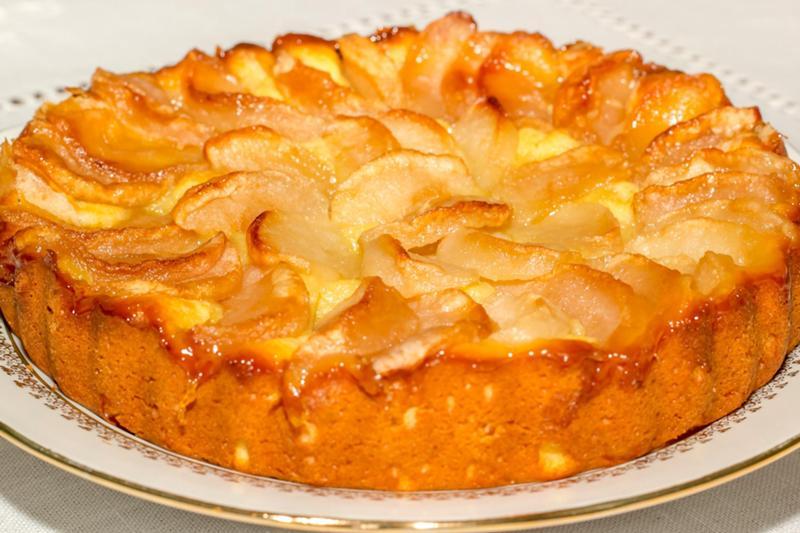 Нежный пирог с яблоками рецепт с фото