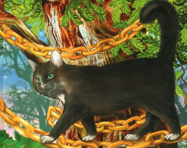 один картинка кота ученого из пушкина любом случае, определить