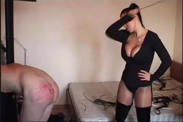 Госпожа порет раба розгами