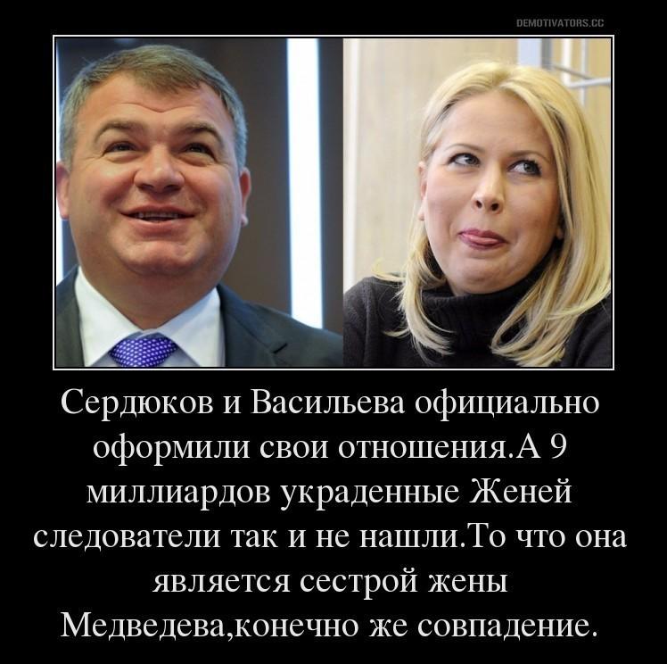 Сердюков и васильева в картинках