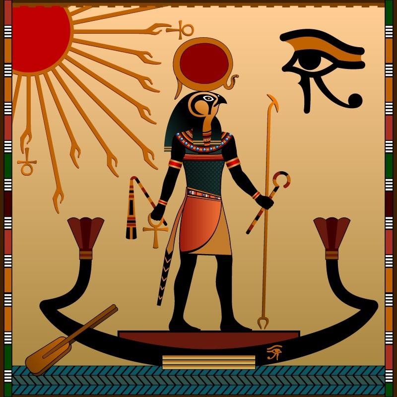 картинки бог солнца ра