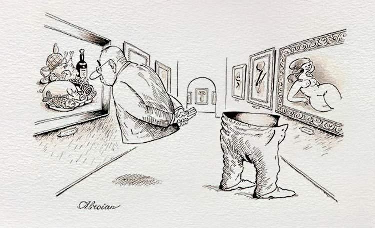 карикатура на мастурбацию они могут