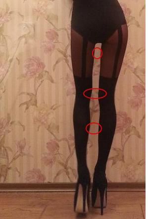 дыры между ног шлюхи - 4