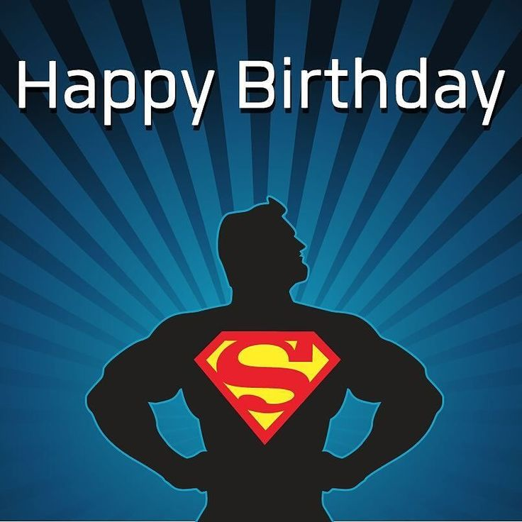 картинки с днем рождения супергерои мужчина