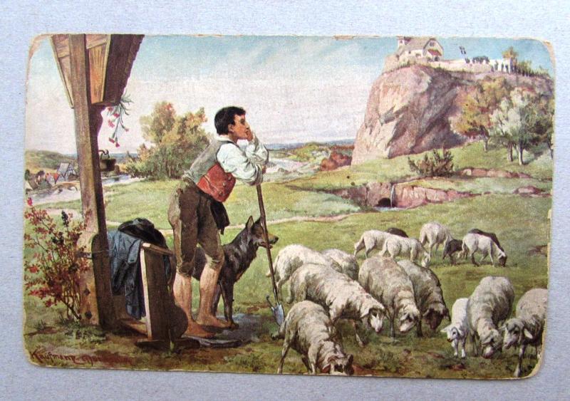 Картинка скотовод для детей