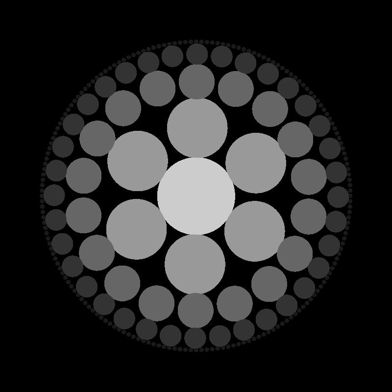картинка круги в кругах покрыто коротким, плотно