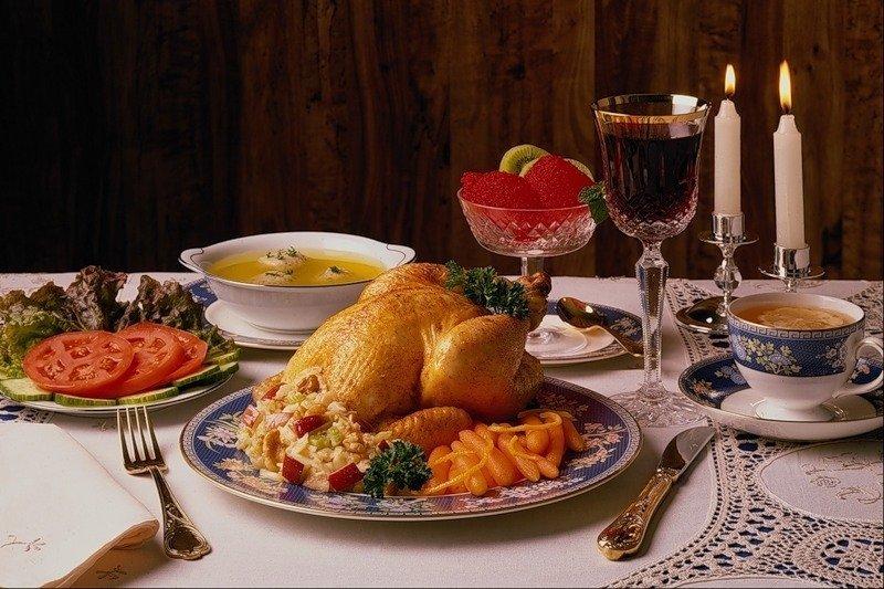 Оскар, открытка приятного ужина