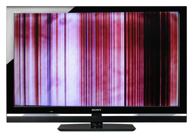Вертикальное изображение на телевизоре была временная