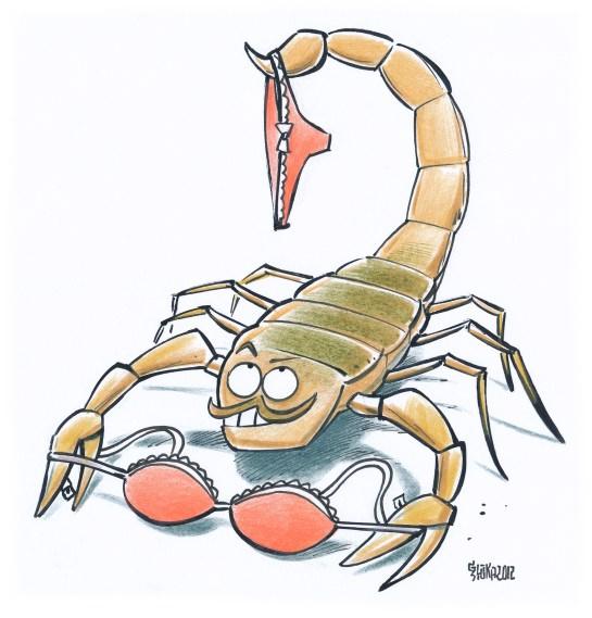 Прикольные картинки скорпиона на аватарку