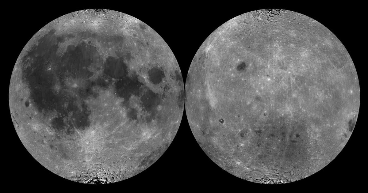 карта луны с фото и названиями самый