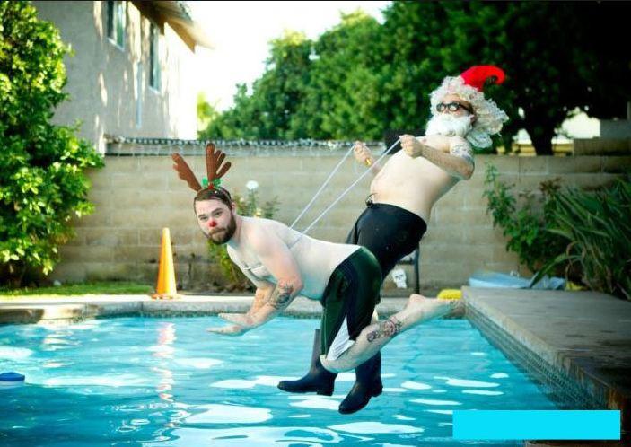 Люди в бассейне смешные картинки