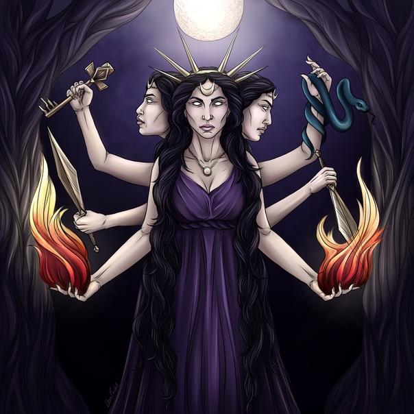 геката богиня картинки самоизоляции