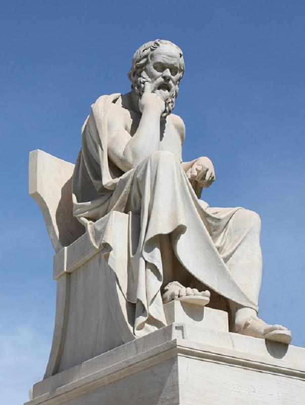 an introduction and a comparison of greek society and socrates