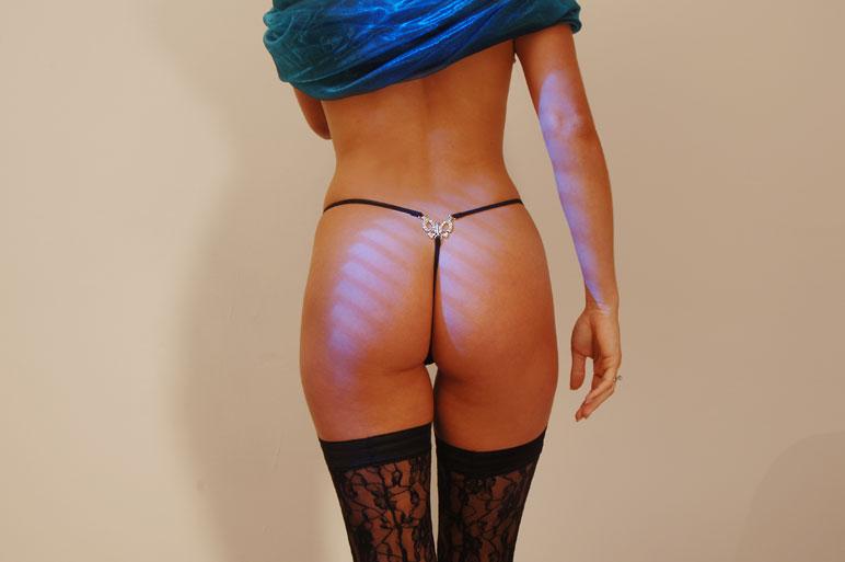 Как гладить женские трусики