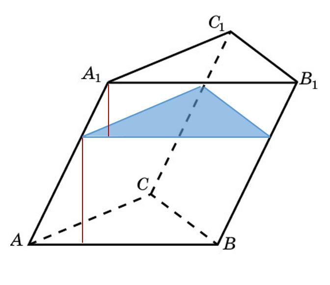 картинки наклонная треугольная призма левши линия