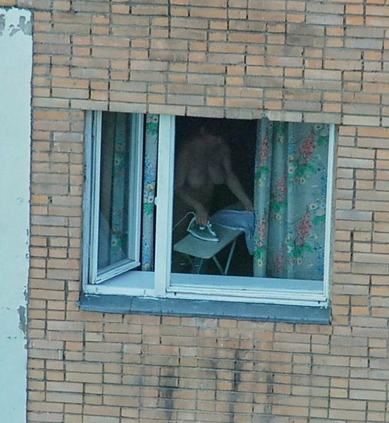 подглядывание домашние окна - 12