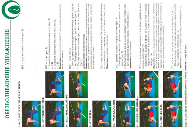 гимнастика бубновского в картинках при грыже второй