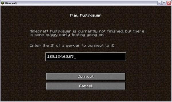 Пароли для серверов minecraft 0 12 1