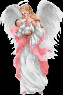 День, ангел для мамы картинки анимашки