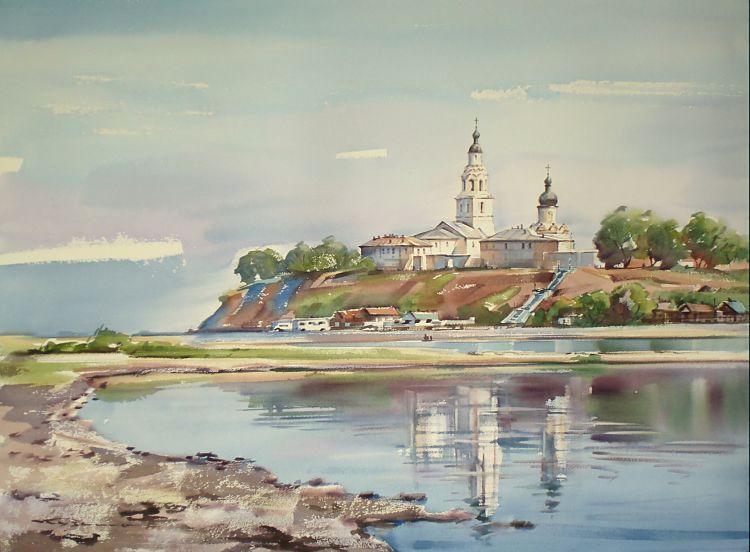 Казань акварелью картинки