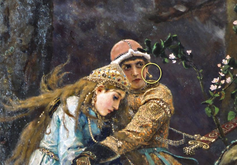 Свиньи, иван царевич и серый волк картинки к сказке васнецова