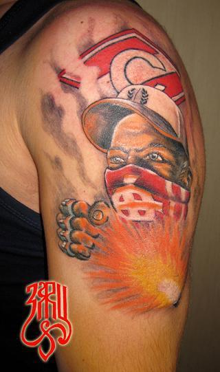 Мясные татуировки  Spartak Ultras