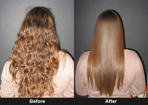 Кератиновое выпрямление волос как долго держится