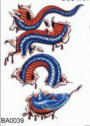 Мужские эскизы тату Змеи - tattoo-proru