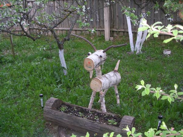Своими руками садовые фигурки