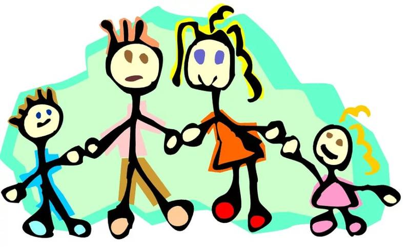 Картинки анимация моя семья, днем рождения