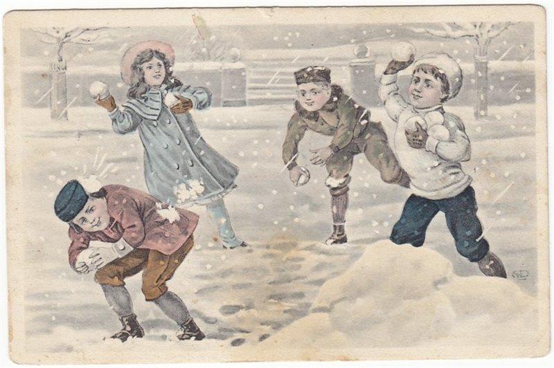 Картинка не пойду играть в снежки